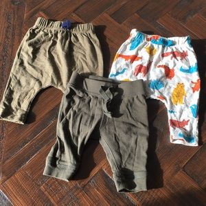 Lot of 3 baby boy pants